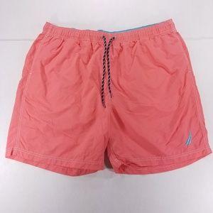 Nautica Pink XXL Swimming Short - Neon Blue logo